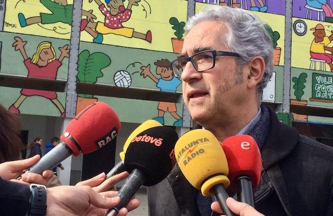 El regidor Josep Maria Montaner