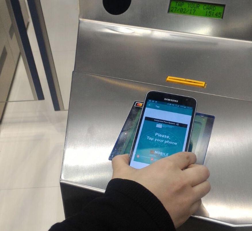 Validació mòbil metro